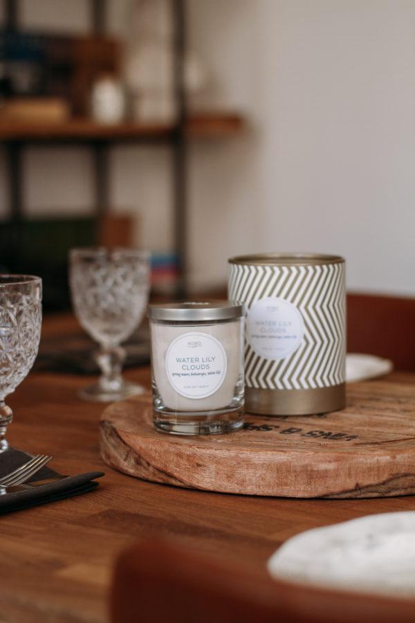 Коллекция свечей Aurelia от бренда KOBO Candles