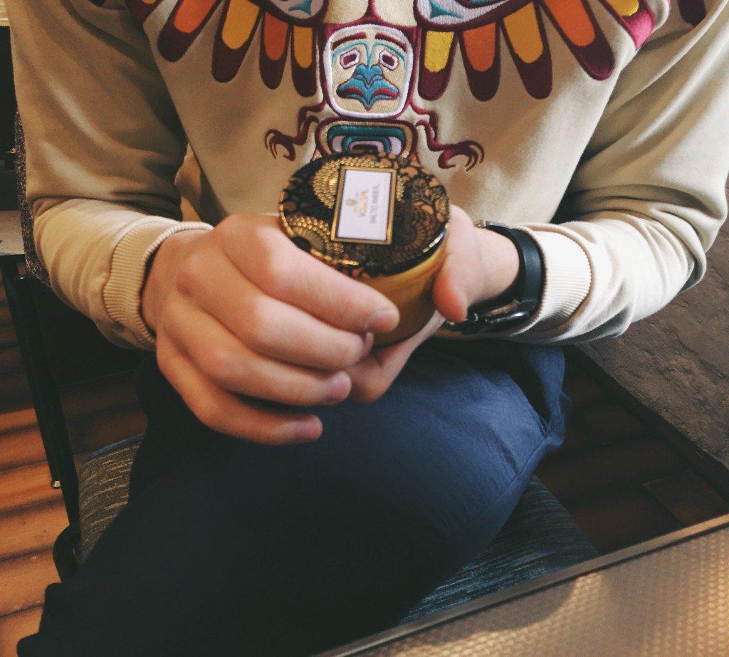 Baltic Amber от Voluspa на Candlesbox