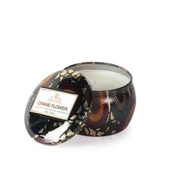 Компактная travel-свеча CRANE FLOWER от VOLUSPA в интернет-магазине ароматов для дома Candlesbox