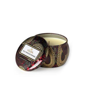 Компактная travel-свеча GOJI TAROCCO ORANGE от VOLUSPA в интернет-магазине ароматов для дома Candlesbox