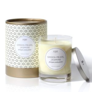 Ароматическая свеча Green Pearl Jasmine от KOBO Candles в интернет-магазине Candlesbox