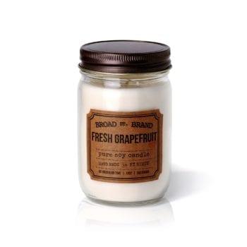 Ароматическая свеча FRESH GRAPEFRUIT от BROAD STREET в интернет-магазине Candlesbox