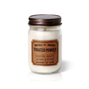Ароматическая свеча TOBACCO POWDER от BROAD STREET в интернет-магазине Candlesbox