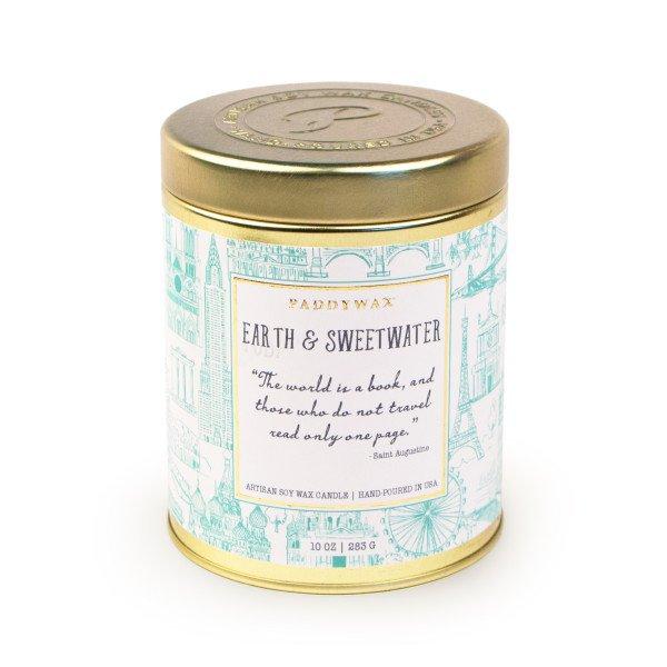 Ароматическая свеча EARTH & SWEETWATER от PaddyWax в интернет-магазине Candlesbox