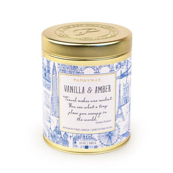 Ароматическая свеча VANILLA & AMBER от PaddyWax в интернет-магазине Candlesbox