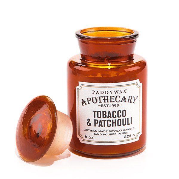 Ароматическая свеча TOBACCO & PATCHOULI от PaddyWax в интернет-магазине Candlesbox