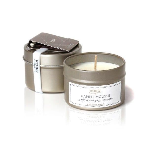 travel-свеча PAMPLEMOUSSE от KOBO Candles в интернет-магазине Candlesbox