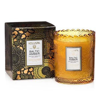 Ароматическая свеча BALTIC AMBER от VOLUSPA в интернет-магазине ароматов для дома Candlesbox