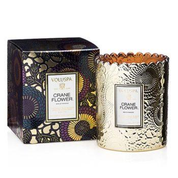 Ароматическая свеча CRANE FLOWER от VOLUSPA в интернет-магазине ароматов для дома Candlesbox