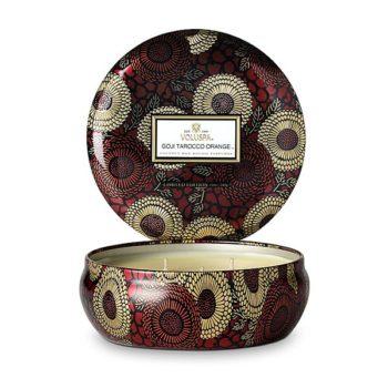 Ароматическая свеча GOJI TAROCCO ORANGE от VOLUSPA в интернет-магазине ароматов для дома Candlesbox