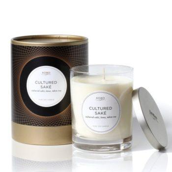 Ароматическая свеча CULTIRED SAKE от KOBO Candles в интернет-магазине Candlesbox