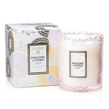 Ароматическая свеча PANJORE LYCHEE от VOLUSPA в интернет-магазине ароматов для дома Candlesbox
