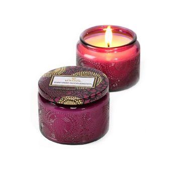 Ароматическая свеча SANTIAGO HUCKLEBERRY от VOLUSPA в интернет-магазине ароматов для дома Candlesbox