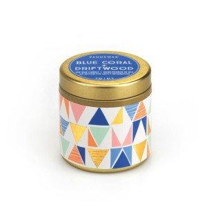 Ароматическая свеча BLUE CORAL + DRIFTWOOD от PaddyWax в интернет-магазине Candlesbox