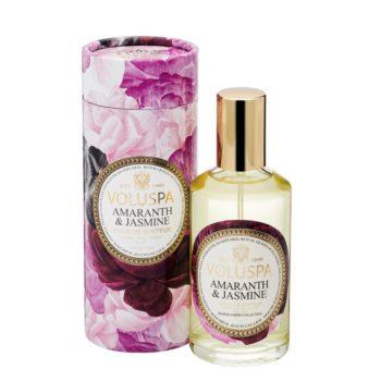 Спрей для дома AMARANTH & JASMINE от VOLUSPA в интернет-магазине ароматов для дома Candlesbox