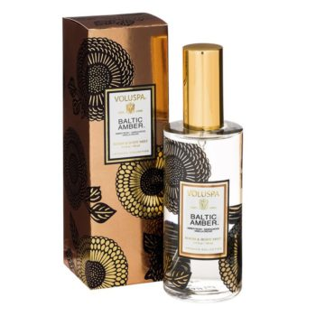 Спрей для дома BALTIC AMBER от VOLUSPA в интернет-магазине ароматов для дома Candlesbox