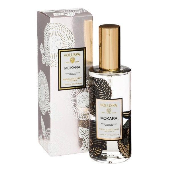 Спрей для дома MOKARA от VOLUSPA в интернет-магазине ароматов для дома Candlesbox