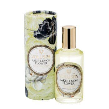 Спрей для дома SAKE LEMON FLOWER от VOLUSPA в интернет-магазине ароматов для дома Candlesbox