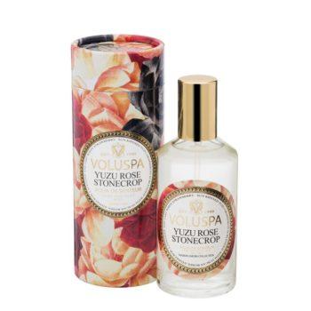 Спрей для дома YUZU ROSE STONECROP от VOLUSPA в интернет-магазине ароматов для дома Candlesbox
