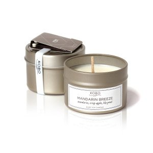 Travel KOBO Candles MANDARIN BREEZE в интернет-магазине Candlesbox
