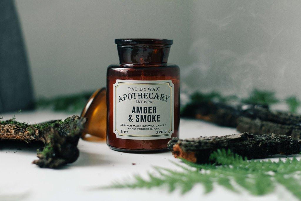 Amber & Smoke, Paddywax, аромат для дома с амброй