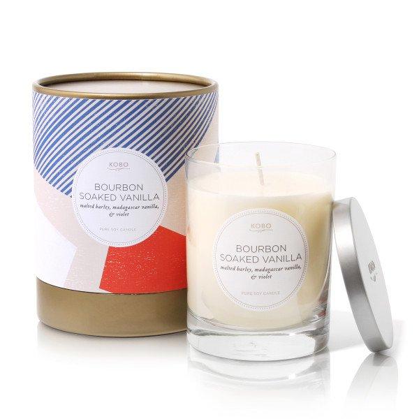 Ароматическая свеча BOURBON SOAKED VANILLA от KOBO Candles в интернет-магазине Candlesbox