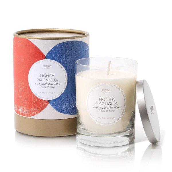 Ароматическая свеча HONEY MAGNOLIA от KOBO Candles в интернет-магазине Candlesbox