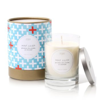 Ароматическая свеча MINT JULEP от KOBO Candles в интернет-магазине Candlesbox
