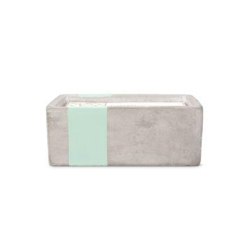 Большая свеча SEA SALT + SAGE в бетоне от PaddyWax в интернет-магазине Candlesbox