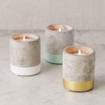 Свечи в бетоне Urban от PaddyWax